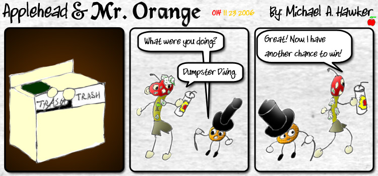 Applehead & Mr. Orange Comic #14
